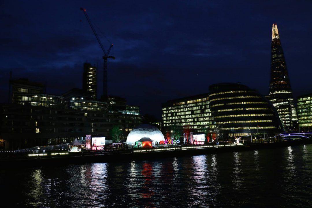 Expo México en South Bank de Londres