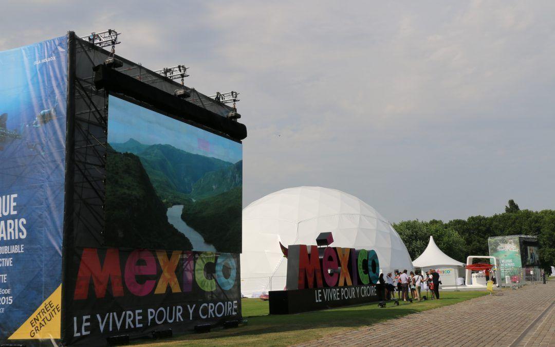 Expo México en Parc de la Villette de París
