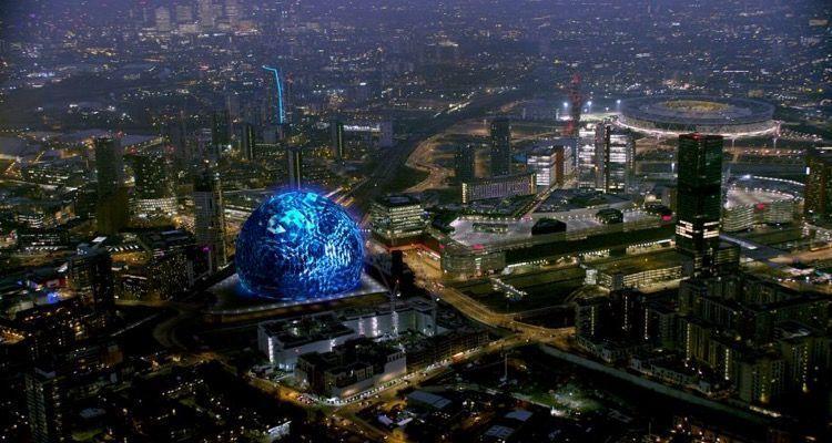 Sphere, el nuevo espacio inmersivo del Madison Square Garden