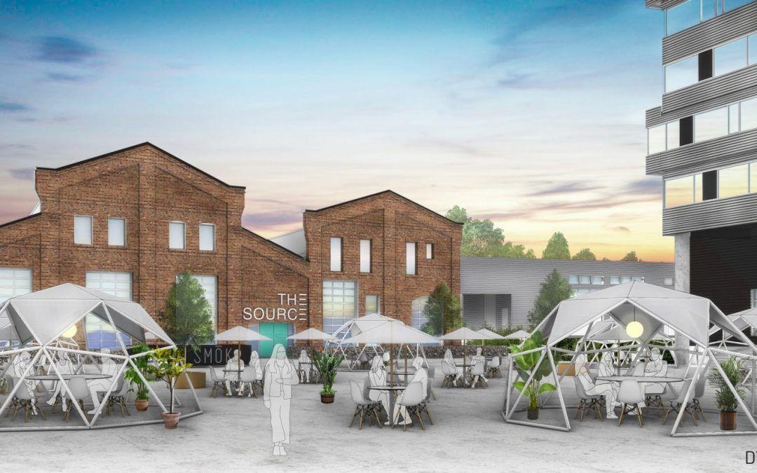 El Source Hotel and Market Hall trabaja en un nuevo proyecto con Domos Geodésicos