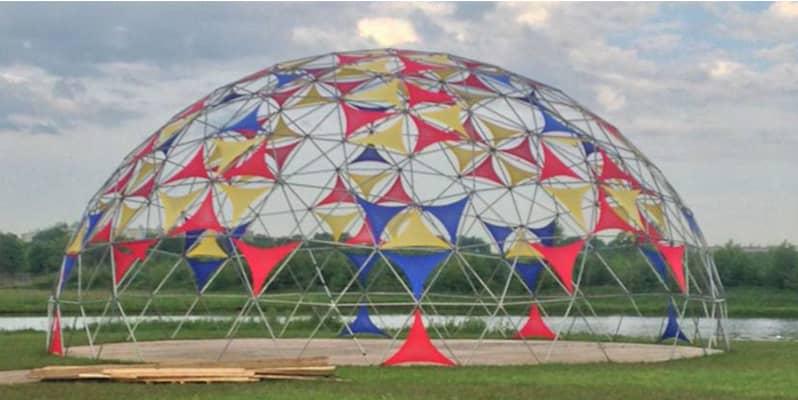 domos geodésicos geodesic domes carpas geodésicas
